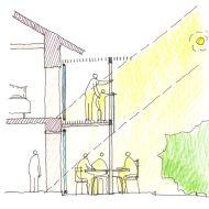 Balcony shading system