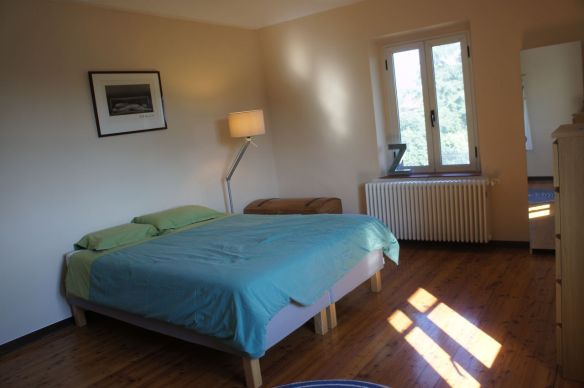 Additional Bedroom available for hire in adjacent wing of house, showing drawers, mirror