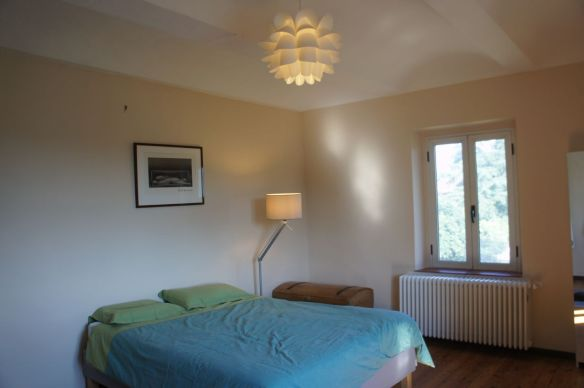 Additional Double Bedroom available for hire in adjacent wing of house, showing vaulted ceiling